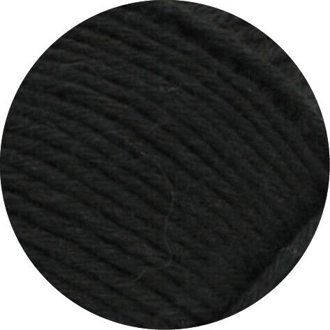 lana Grossa-kilómetros 8-especializada 100-FB Lana creativo 9558 negros 100 G