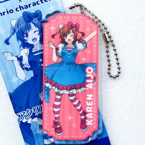 Revue Starlight × Sanrio Characters Acrylic Key Chain Claudine  Maya Jyunna...