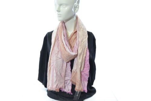 Women/'s Wrap Scarf Light and Dark Pink with Orange Style/&Co