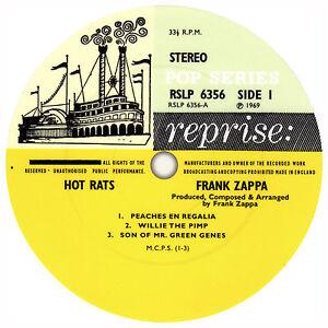 Frank-Zappa-Hot-Rats-Record-Label-Vinyl-Sticker