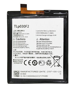 Details about Original NEW TLp030F2 3000mAh Battery For Alcatel Idol 4S  6070O 6070K 6070Y