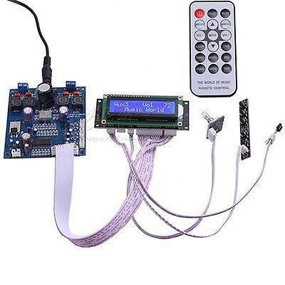 High-power Digital Amplifier Board TPA3116D2 + PT2313 Remote Control 50W + 50 W