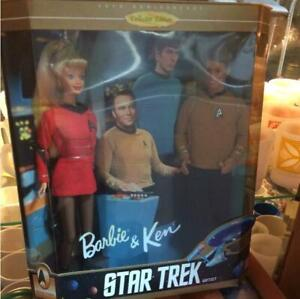 Barbie-Ken-STAR-TRECK-Doll-30th-Anniversary-Collector-Edition