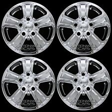 "4 CHROME 2014-2017 Toyota TUNDRA 18"" Wheel Skins Hub Caps Full Alloy Rim Covers"