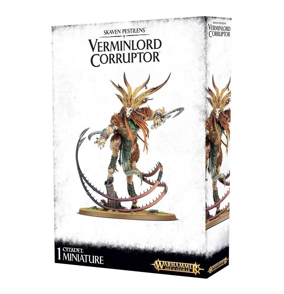Warhammer SKAVEN Pestilens Verminlord autor de la corrupción 90-21