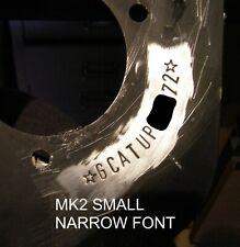 ESCORT FORD CAPRI RS2000 MK2 MEXICO MK1 AVO STRUT TOP VIN STAMPING