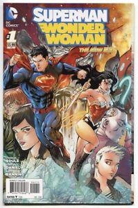 Superman-Wonder-Woman-Issue-1-DC-Comics-2013-The-New-52-NM