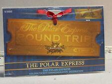 Lionel The Polar Express Locomotive Commemorative Golden Ticket