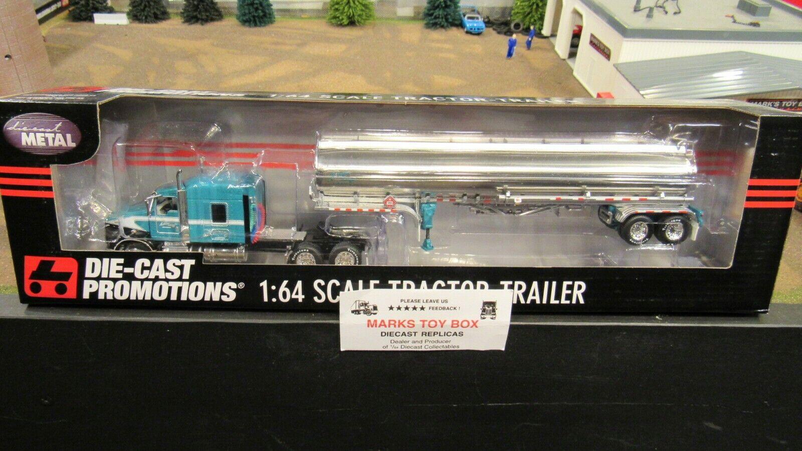 DCPAnkrum camiones Kw W900 Semi CAB camión remolque Gas Tanque De Combustible 1 64 CL