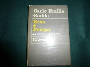Carlo-Emilio-Gadda-Eros-e-Priapo-Garzanti-Milano-1967-1-EDIZIONE