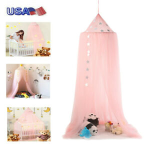 Romantic-Baby-Bed-Canopy-Bedcover-Mosquito-Net-Curtain-Bedding-Dome-Tent-Room-WW