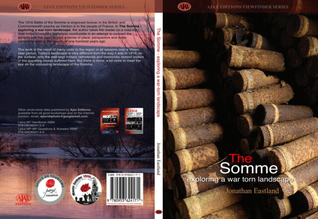 The Somme - exploring a war-torn landscape by Jonathan Eastland - REDUCED PRICE!