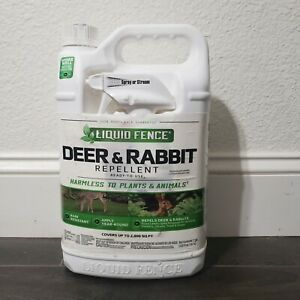 Liquid Fence Deer And Rabbit Repellent Ready To Use 1 Gallon Rain Resistant New 651124701092 Ebay