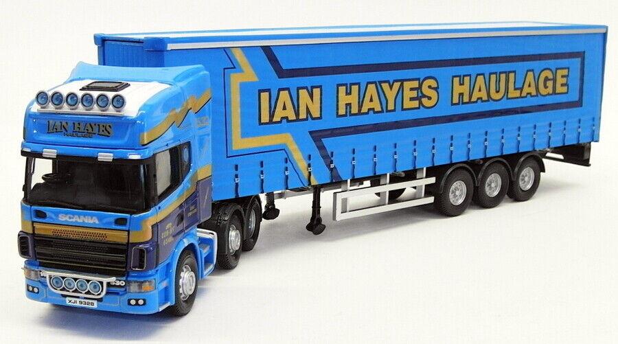 CORGI échelle 1 50 Modèle Camion CC12935-Scania Topline Curtainside-Hayes