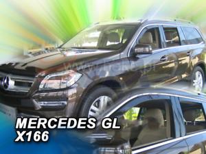 MERCEDES GL x166 2013-AUJOURD/'HUI 4 Pièces Jeu Avant /& Arrière saute vent
