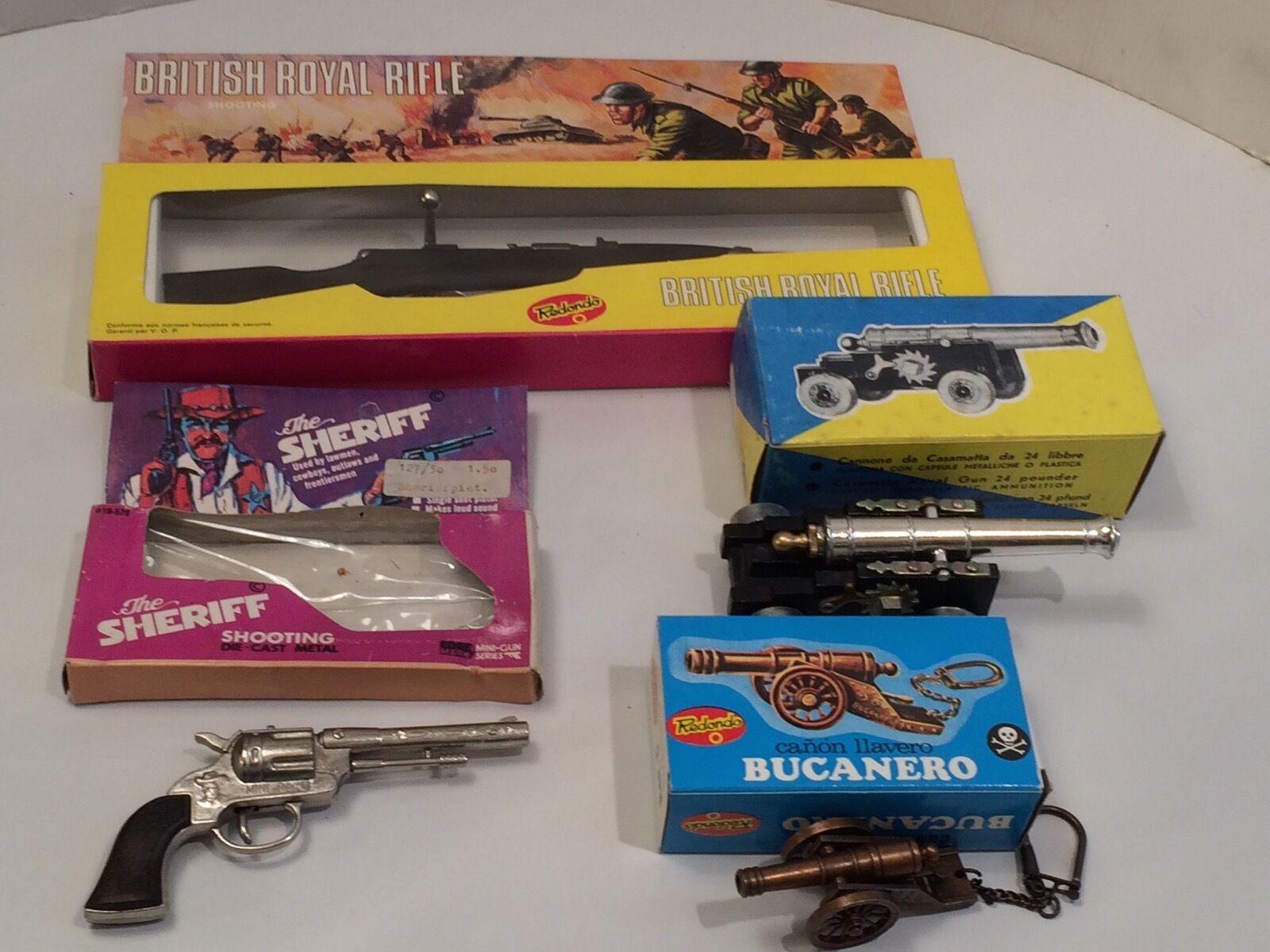 SPIELZEUG MODELL FESTUNGSKANONE CANON ILAVERO BUCAschwarz BRITISH ROYAL RIFLE GUN