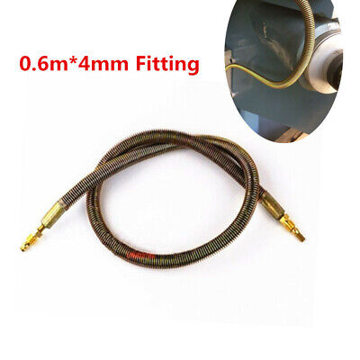 """3//4/"""" x 3Ft Gold Heat Reflective Wire Cable Loom Sleeve Braided Steel Sheath Tube"""