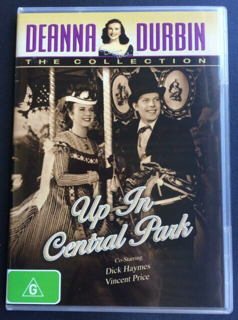 UP IN CENTRAL PARK  Deanna Durbin, Dick Haymes, Vincent Price DVD
