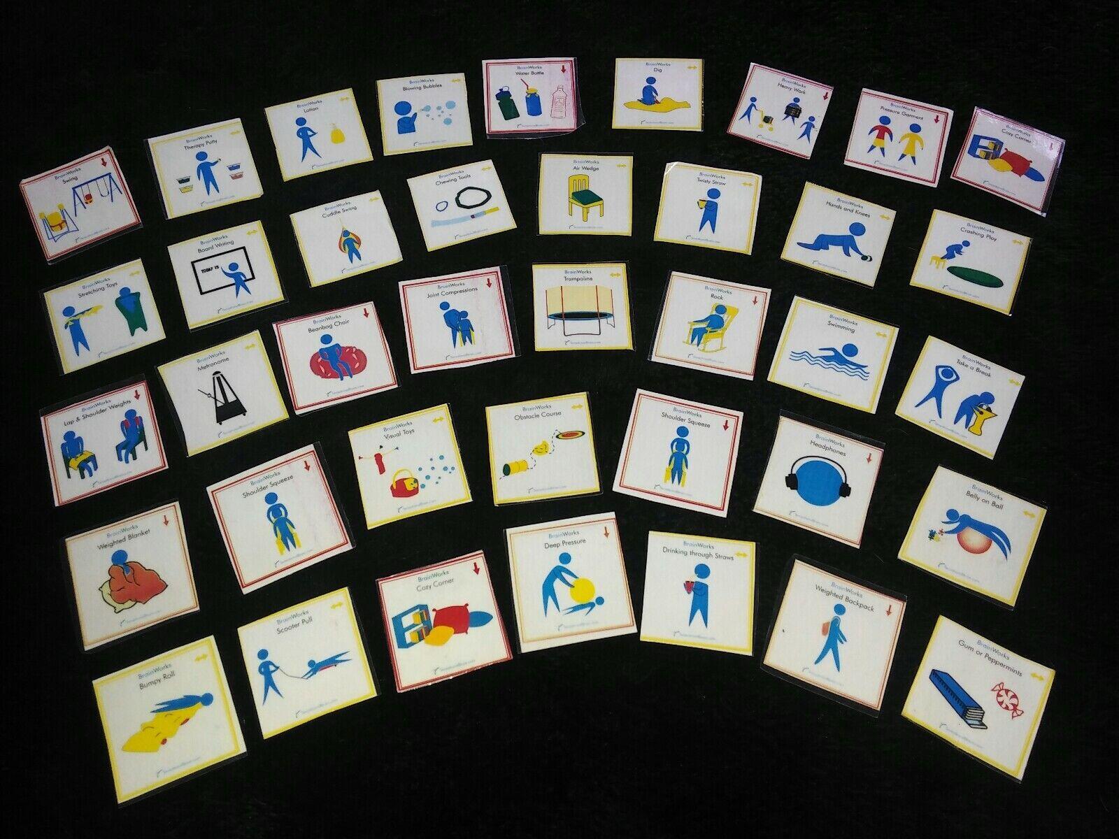 39 Brain Works PICTURE COMMUNICATION Autism ABA SENSORY SPEECH THERAPY ♿ Pecs