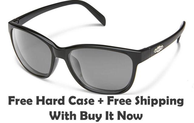 97e509f3c7 Suncloud Dawson Sunglasses - Gloss Black   Grey Polarized Lens + Free Hard  Case