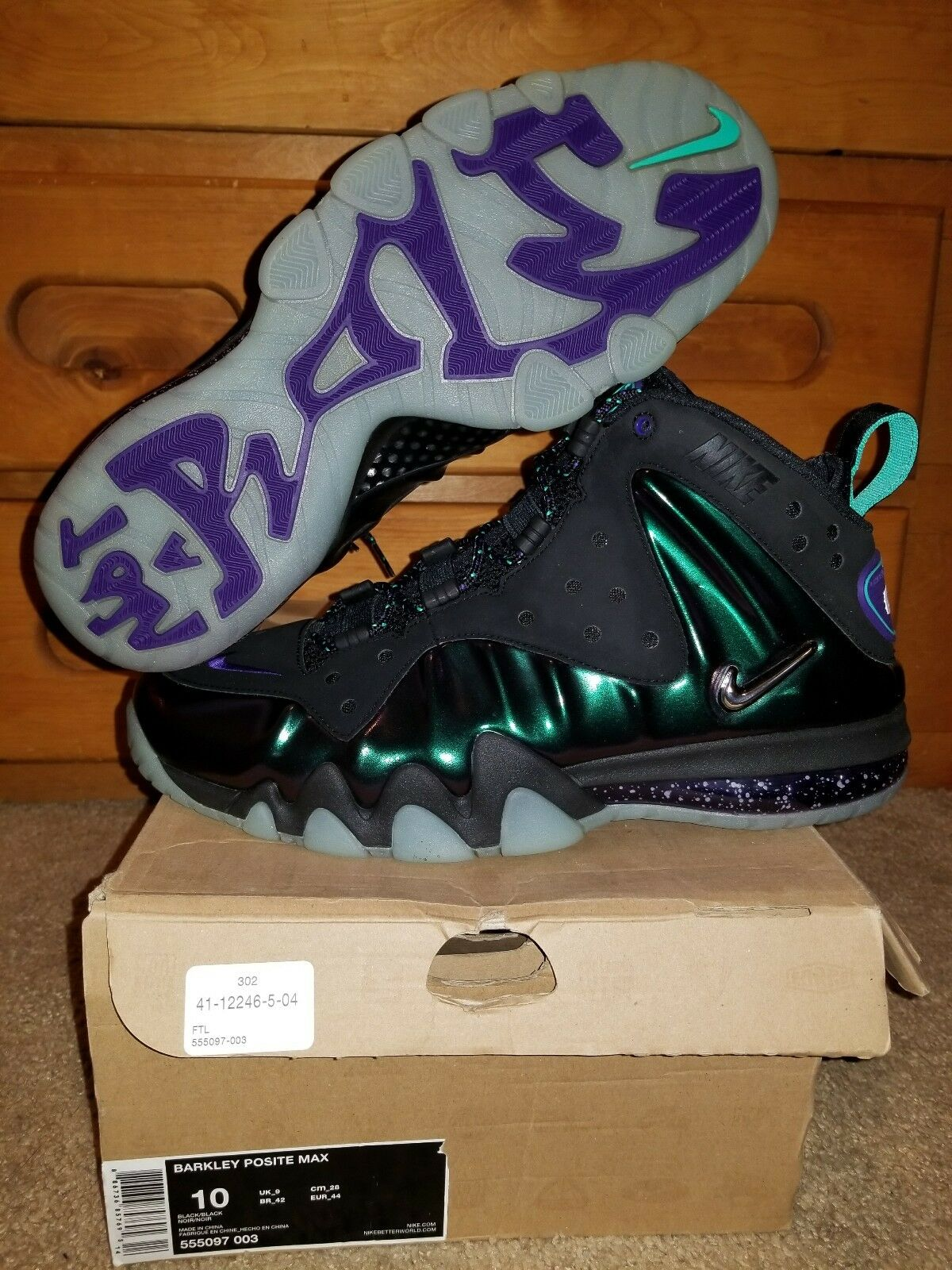NIKE AIR BARKLEY POSITE MAX EGGPLANT Price reduction The most popular shoes for men and women