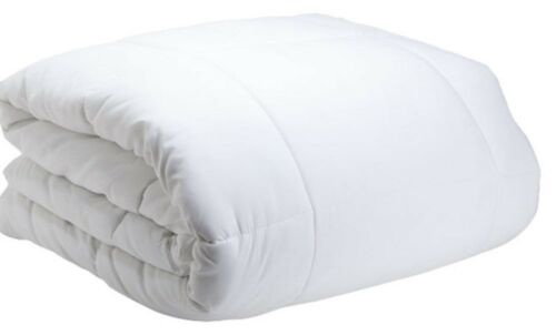 Cozy Beddings Comforter ONLY Down Alternative ~ White ~ Queen 88 x 88 **NEW**