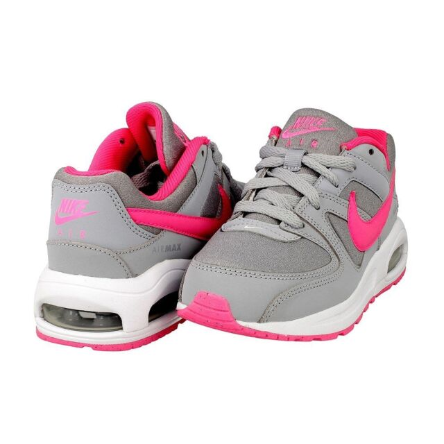 59b174a69dee Nike Girls Size 11c Air Max Command Flex (ps) Shoes Grey pink 844350 ...
