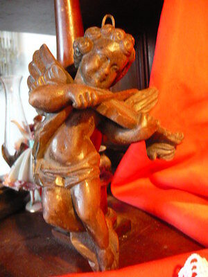 Aufrichtig Hübscher Engel Spielt Geige Putte Wachs-guss Guter Zustand 16 Cm Unbeschädigt GroßE Vielfalt