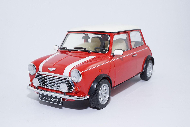 10351 - Premium ClassiXXs Mini Cooper mk6 1969-solaire rouge blanc - 1 12