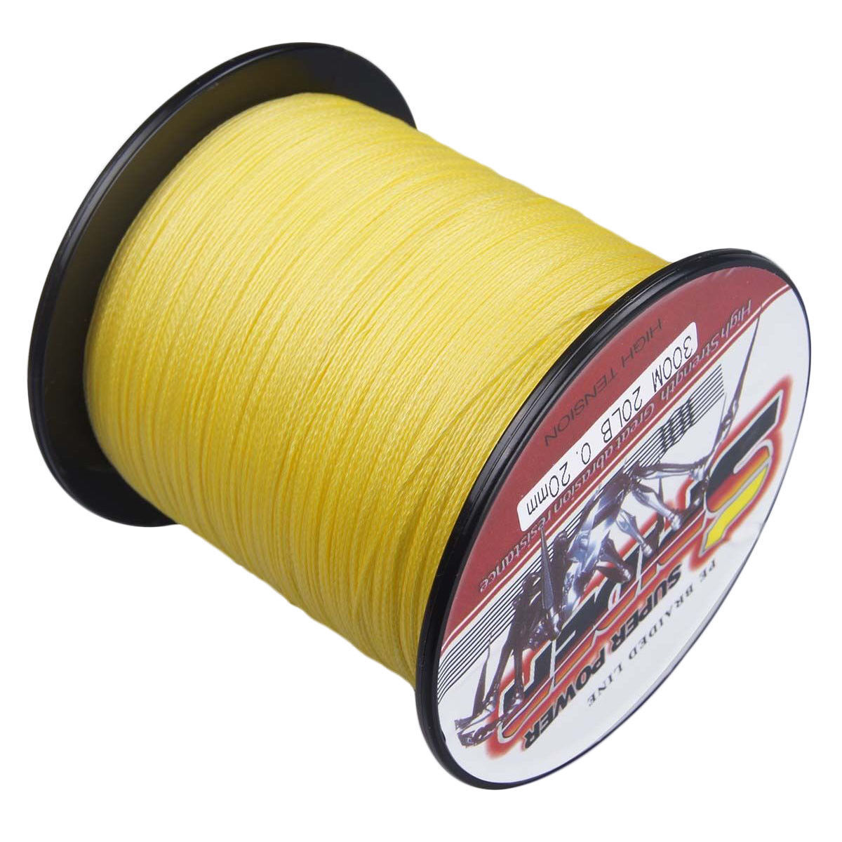 Gelb SuperPower Braided Fishing Line (109yds2187 yds)  6LB- 300LB SPIDER