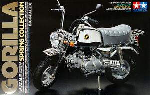 Tamiya-16031-1-6-Scale-Motorcycle-Model-Kit-Honda-Gorilla-Spring-Collection-Z50J