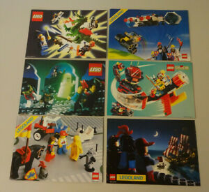 (15) LEGO KATALOGE PROSPEKTE RITTER PIRATEN SPACE 1986,1987,1988,1989,1992,1994
