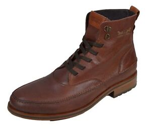 Details zu Levis Herren Leder Stiefel Schuhe Braun Marken Herren Schuhe sale 10121504