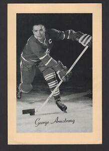 1944-63-Beehive-Group-II-Toronto-Maple-Leafs-Photos-373B-George-Armstrong-Dark