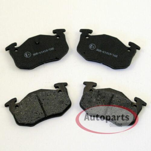 Bremsbeläge Bremsklötze für hinten die Hinterachse Peugeot 306