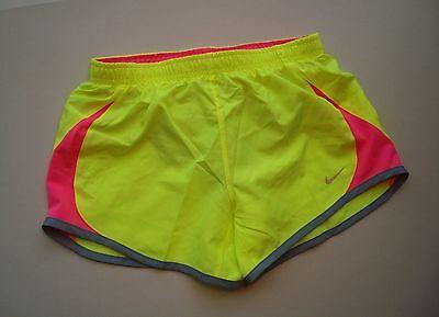 b3b472d546320 NIKE Girl's (Youth) Yellow 5K Tempo Running Shorts Style #716734 - NEW Size  M | eBay
