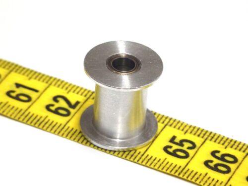 Polea de inactividad 2X GT2-20 con o sin dientes calibre 3 8mm-ancho 6 4 10 15mm 5