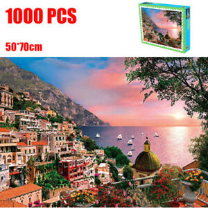 1000 Pieces Jigsaw Puzzles Educational Toy Italian Landscape