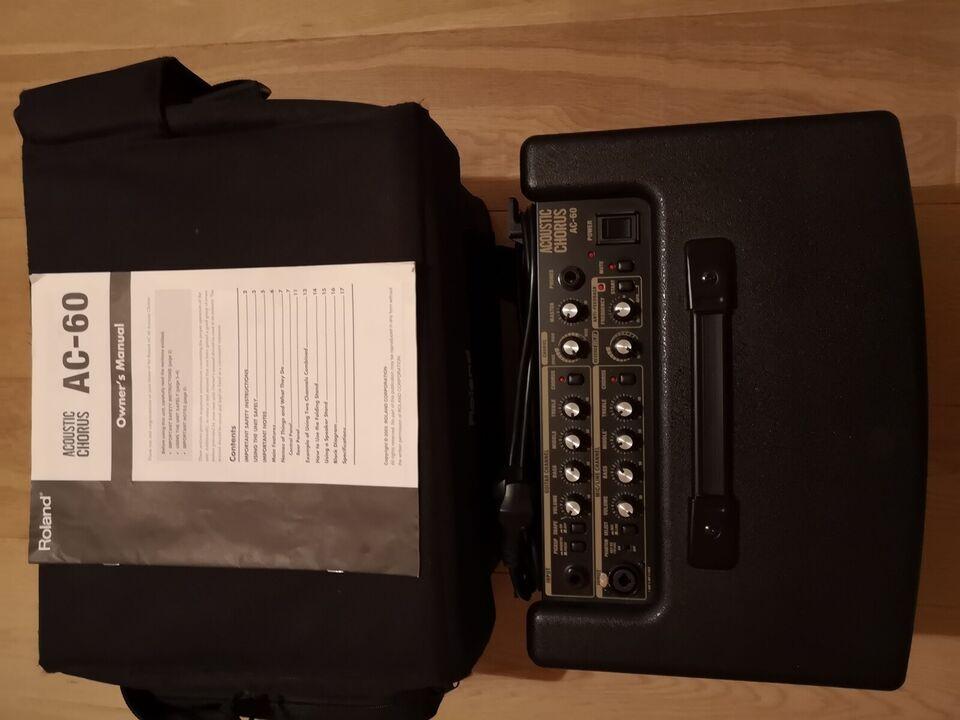 Guitarforstærker, Roland AC60, 60 W