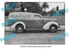 OLD-8x6-PHOTO-OF-GOLDEN-FLEECE-TRUCK-c1940-SYDNEY-3