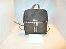 1314c67f58bc item 1 Michael Kors Signature Logo Rhea Medium Slim Backpack, Book Bag $258  Brown -Michael Kors Signature Logo Rhea Medium Slim Backpack, Book Bag $258  ...