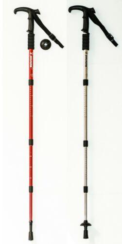 """Wolferland Trekking Stick Aluminum 4 Step 43/"""" Long"""