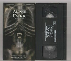 Alone In The Dark 2005 Like New Horror Vhs Video Movie Gore Cult Slasher Sex Ebay