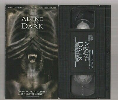 Alone In The Dark 2005 Like New Horror Vhs Video Movie Gore Cult