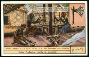 Africa-Native-Congo-Art-Forge-Metalworking-Artists-c70Y-O-Trade-Ad-Card