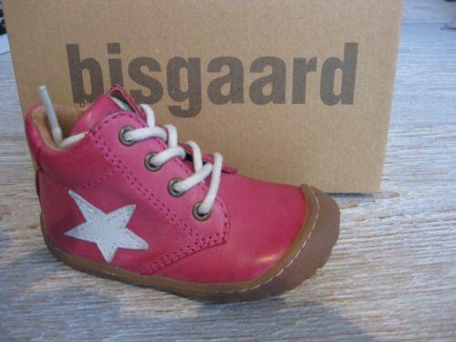Bisgaard Lauflernschuhe basses rose étoile 23101.118.4003 Nouveau