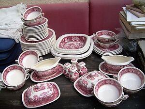 villeroy boch speiseservice rusticana rot f r 12 oder 6 personen. Black Bedroom Furniture Sets. Home Design Ideas