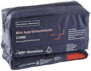 Holthaus-Mini-3-in-1-Verbandtasche-Warndreieck-Warnweste-Din-13164