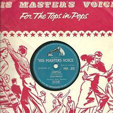 "ELVIS PRESLEY 78 ""PARALYZED / WHEN MY BLUE MOON TURNS TO GOLD..""  HMV POP 378 E-"