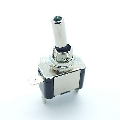 Kfz Schalter mit LED Beleuchtet 12V / 20A Kippschalter 2 Stellungen: EIN / AUS